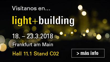 Intro light building 2018 button es bes knx - Electromat balear ...