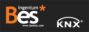 Logo bes knx bes knx - Electromat balear ...