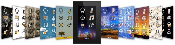 ingenium Smart Touch - home screens