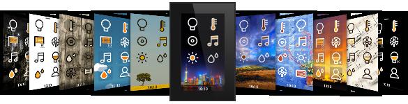 ingenium Smart Touch - home screens