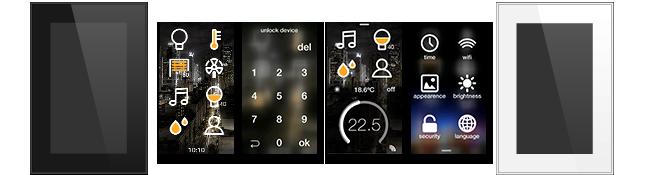 ingenium Smart Touch - function screens