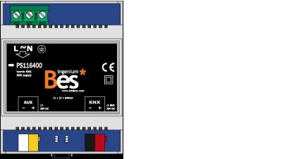 Ingenium BES KNX voeding 640mA
